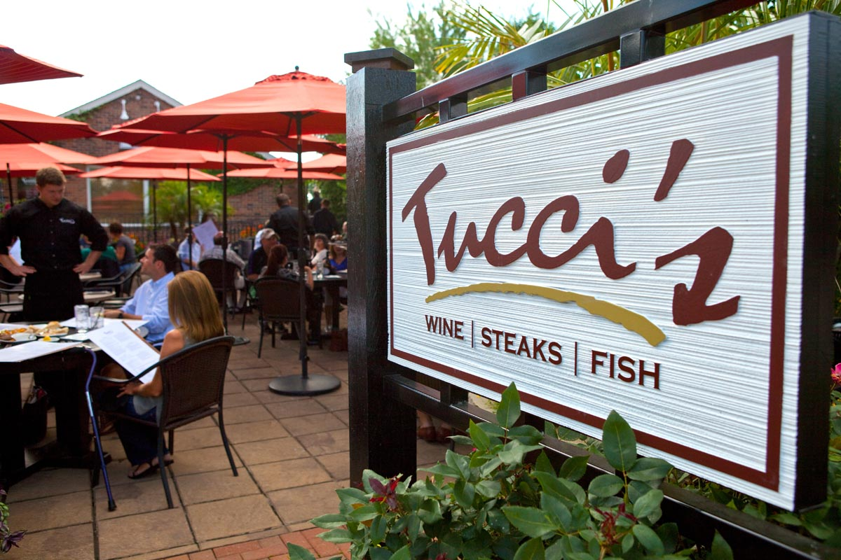 Tucci's sign